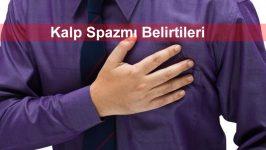 Kalp Spazmı Belirtileri